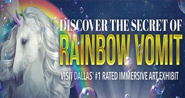 Rainbow Vomit: Halloween Edition - Immersive Art Exhibit