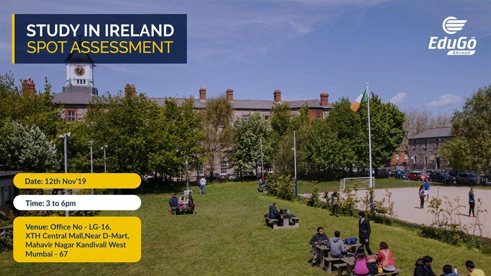 Study In Ireland - Spot Assessment
