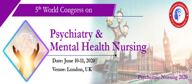 5th World Congress on Psychiatry & Mental health Nursing