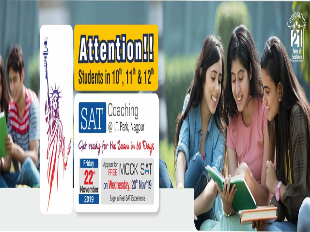 Join New SAT Coaching Batch at Krishna Consultants - 22nd Nov 2019