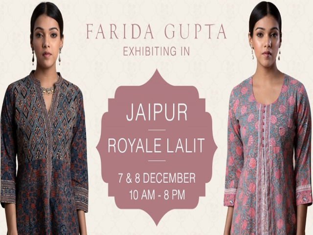 Farida Gupta Jaipur Exhibition