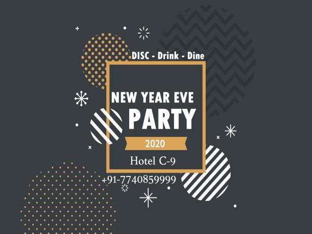 New Year Eve Party II 2020 II Hotel C9