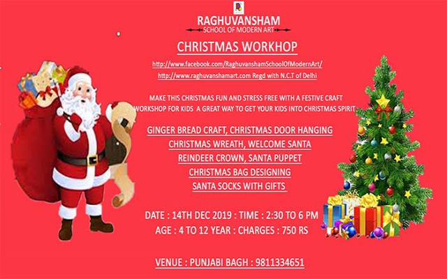 Christmas Workshop 2019