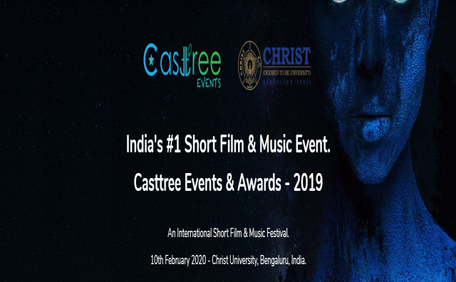 Short Film & Music Event. Casttree Events & Awards - 2019