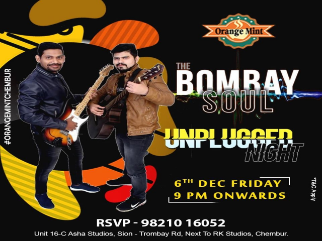 The Bombay Soul Unplugged Night