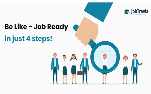 Be Like - Job Ready in just 4 steps.