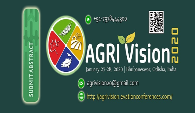 Agri Vision 2020: International Conference on Agriculture