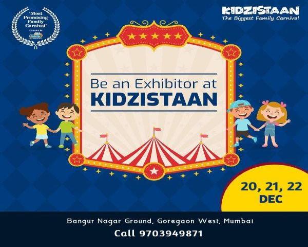 Kidzistaan - The Biggest Family Carnival at Mumbai - BookMyStall