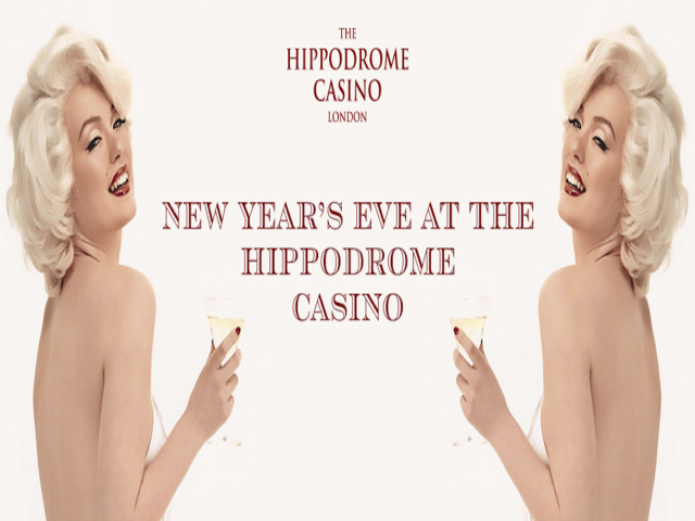 NYE at The Hippodrome - Tuesday 31st December - 9pm