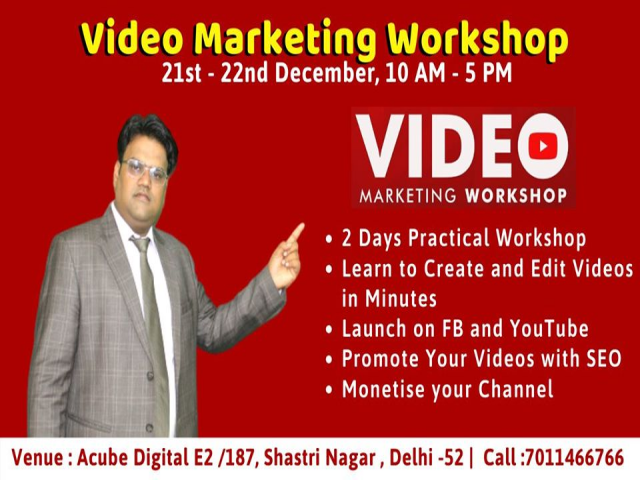 Video Marketing Workshop