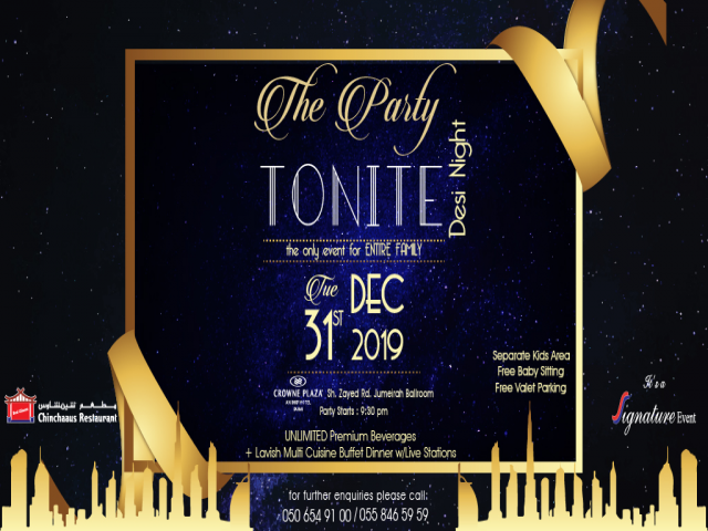 Party Tonite (New Year's Eve)