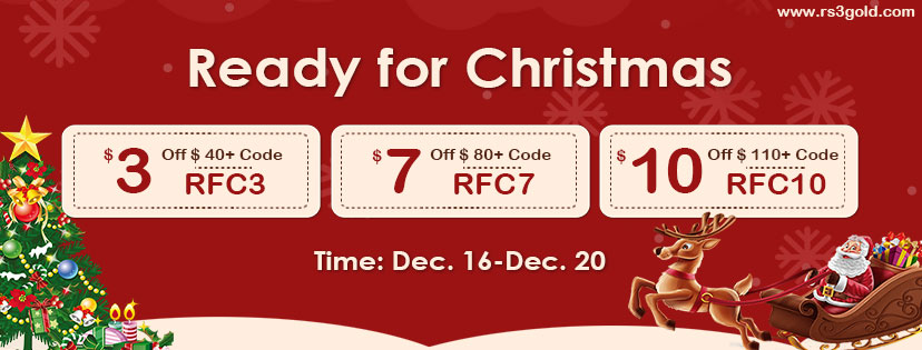Welcome to Join Xmas Party with Up to 9off runescape gold on RS3gold