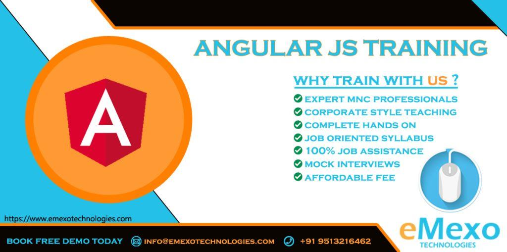 Angular JS 2&4 Course in Electronic City Bangalore