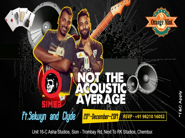 NOT THE ACOUSTIC AVERAGE ft. Selwyn & Clyde