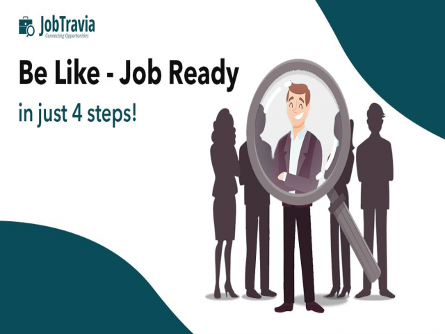 Be Like - Job Ready in just 4 step