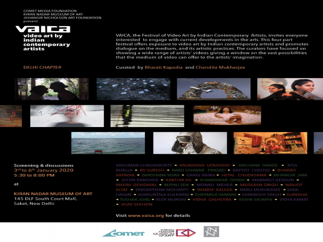 Video Art by Indian Contemporary Artists Screening & Discussion