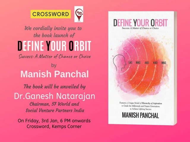 Crossword Bookstores welcomes you to the book launch