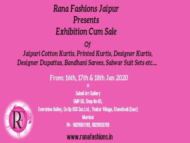 Exhibition Cum Sale