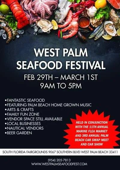 West Palm Seafood Festival - West Palm Beach