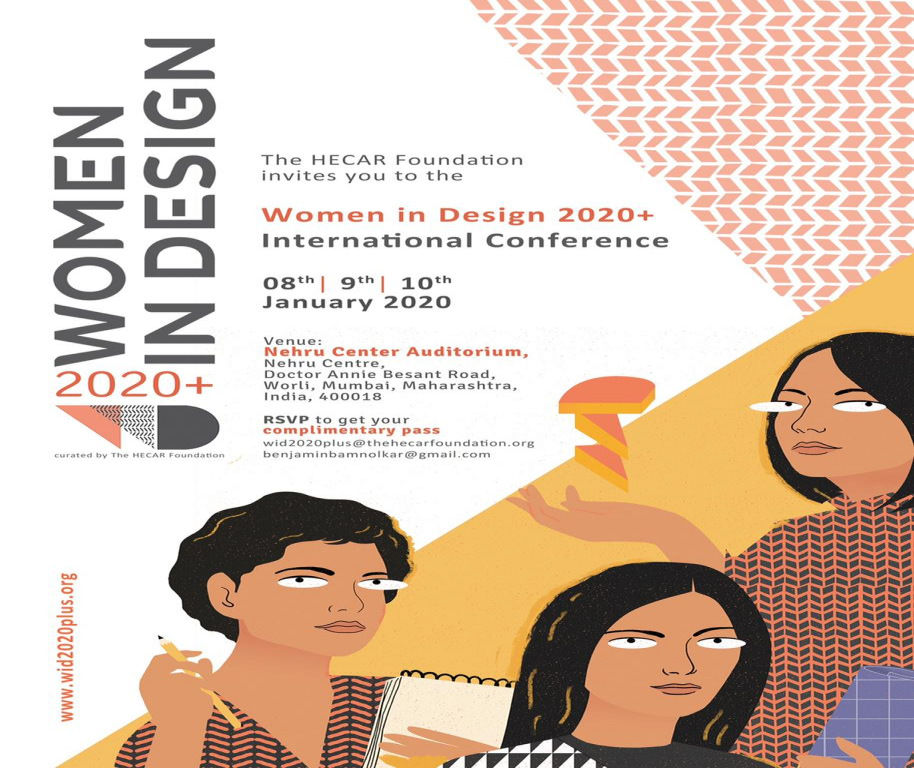 The HECAR Foundation organizes Women in Design  2020+ International Conference.