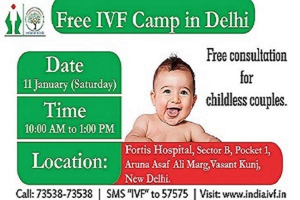 Free IVF Camp Delhi