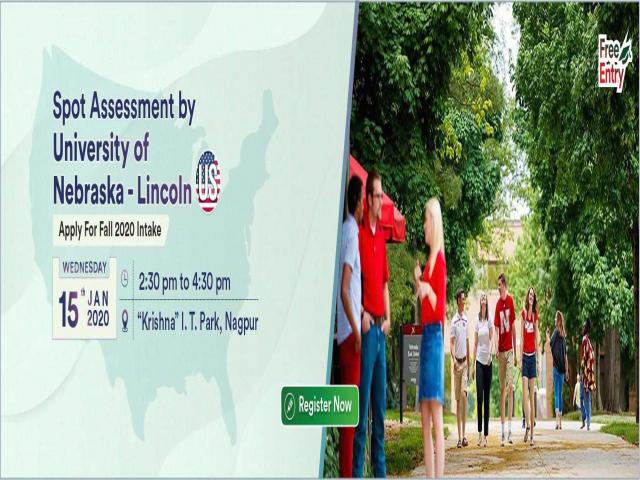 Meet & Apply to University of Nebraska - Lincoln, USA on 15th Jan 2020