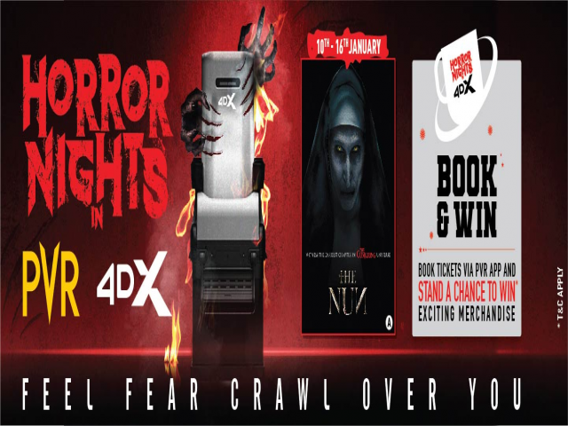 PVR - Horror Nights in 4DX