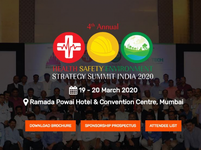 4th Annual HSE Strategy Summit India 2020