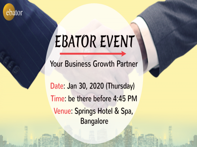 EBATOR EVENT: Your Business Growth Partner