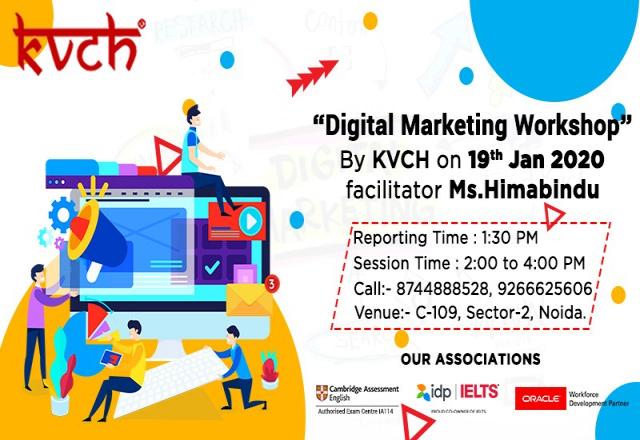 Free Digital Marketing Workshop Conducted at KVCH