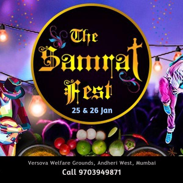 Samrat - Food & Shopping Fest at Andheri West, Mumbai - BookMyStall