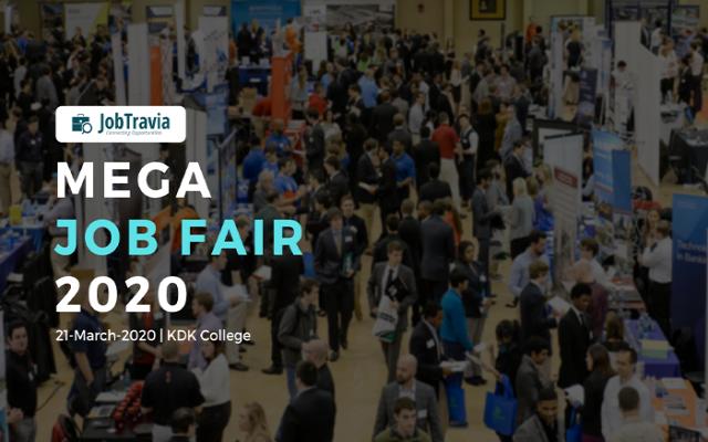 Mega Job Fair 2020