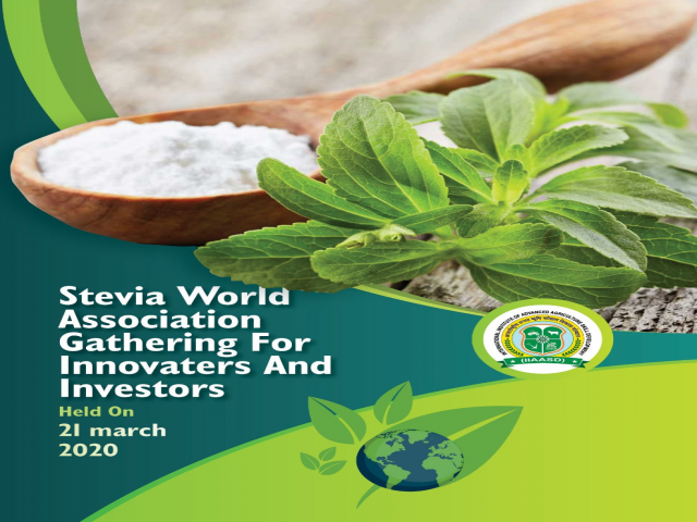 Stevia World Association Gathering For Innovaters And Investors