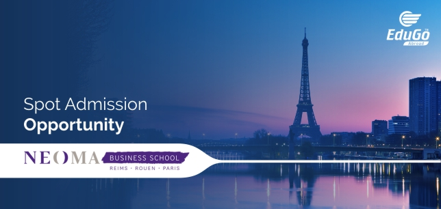 France Spot Admission For NEOMA Business