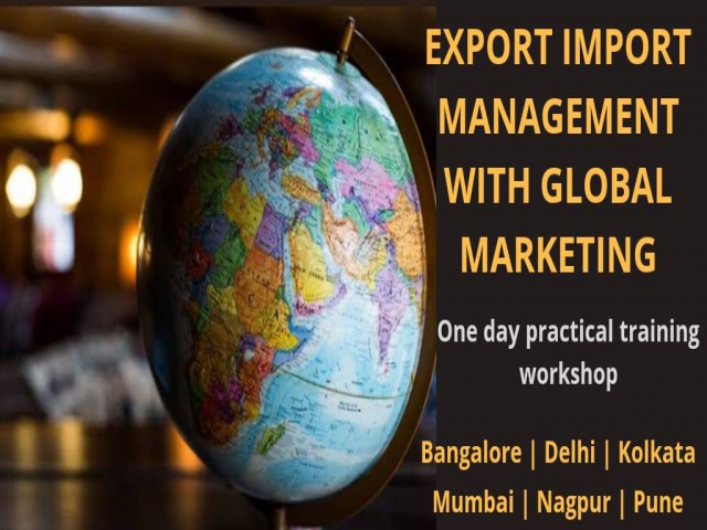 Learn Import Export in Bangalore