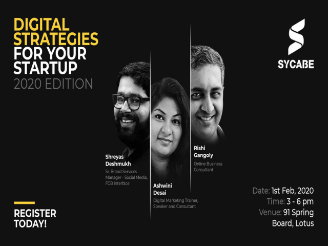 Panel Discussion : Digital Marketing For Startups