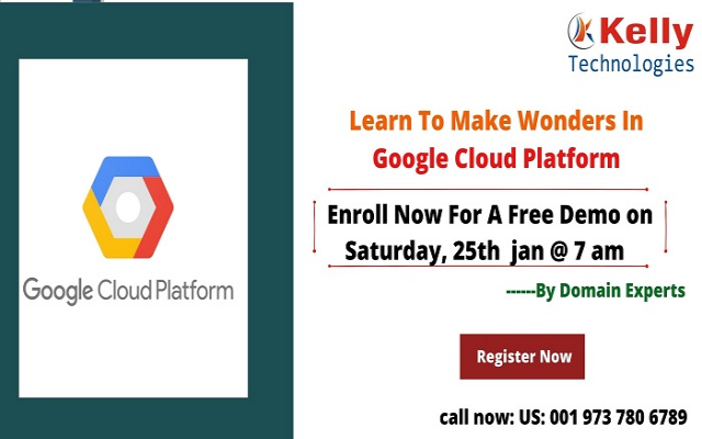Join Us For Interactive Free Online Demo On GCP On 25th January, At 7:00 AM