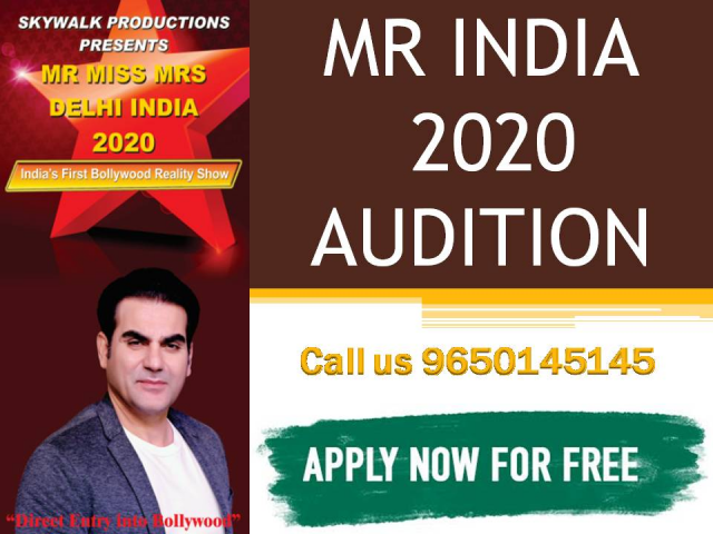Mr India 2020 Audition