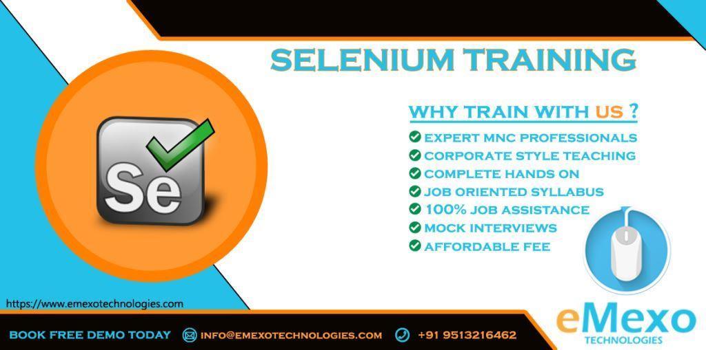Selenium Training in Electronic city Bangalore