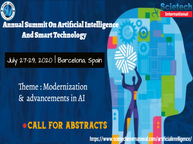Annual Summit On Artificial Intelligence And Smart Technology