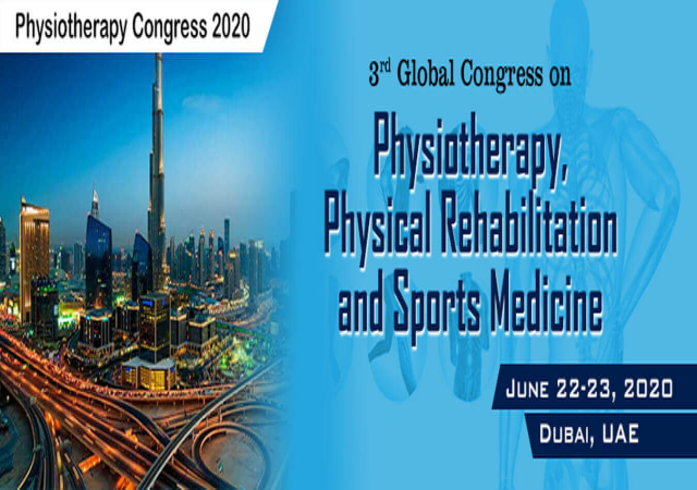 3rd Global Congress on Physiotherapy, Physical Rehabilitation and Sports Medicin