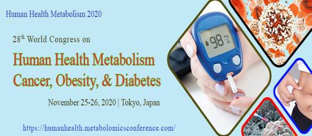 28th World Congress on Human Health Metabolism-Cancer, Obesity, and Diabetes