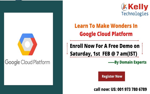 Join Us For Interactive Free Online Demo On GCP On 1st February At 7 AM