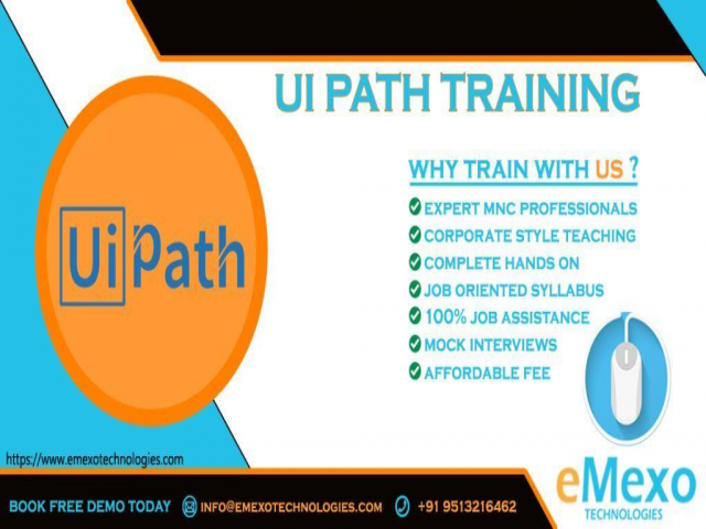 RPA - UIPath Training Institute in Electronic City Bangalore
