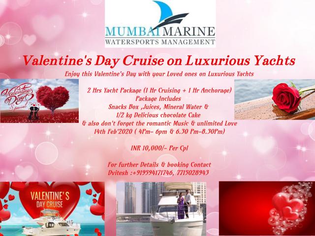 Valentine's Day Yacht Cruise