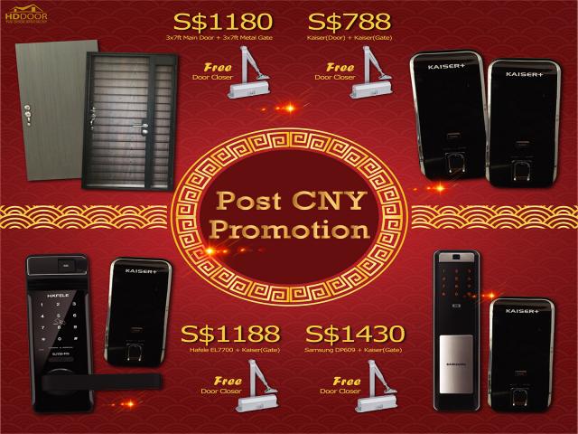 Post CNY Bundle Promotion Sale Event 2020 Singapore