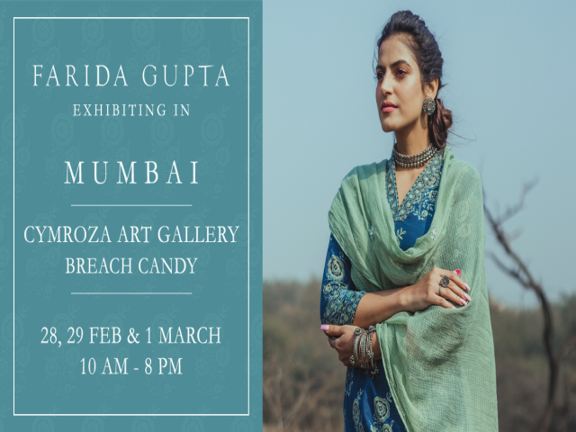 Farida Gupta Mumbai Exhibition (Cymroza Art Gallery)