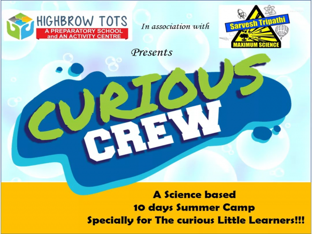 Curious Crew- Science fun for kids