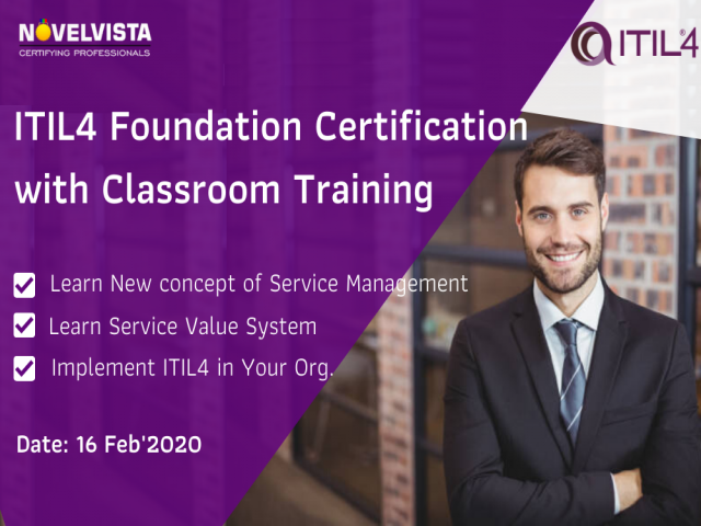 ITIL 4 Foundation Training & Certification