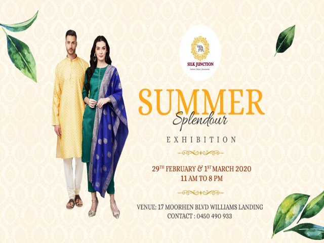 Silk Junction's Summer Splendour Exhibition